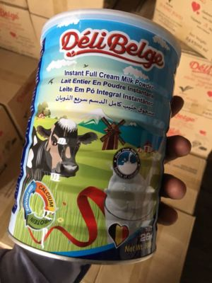 Delibelge full cream milk powder